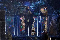 Rag'n'Bone Man, Rory Graham, performs at the 2019 Brit Awards at the O2 Arena.<br /><br />20 February 2019.<br /><br />Please byline: Vantagenews.com
