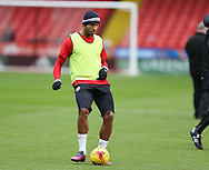 Leon Clarke of Sheffield Utd during the English League One match at Bramall Lane Stadium, Sheffield. Picture date: December 31st, 2016. Pic Simon Bellis/Sportimage