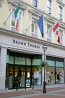 Brown Thomas Store, Grafton Street, Dublin, Ireland
