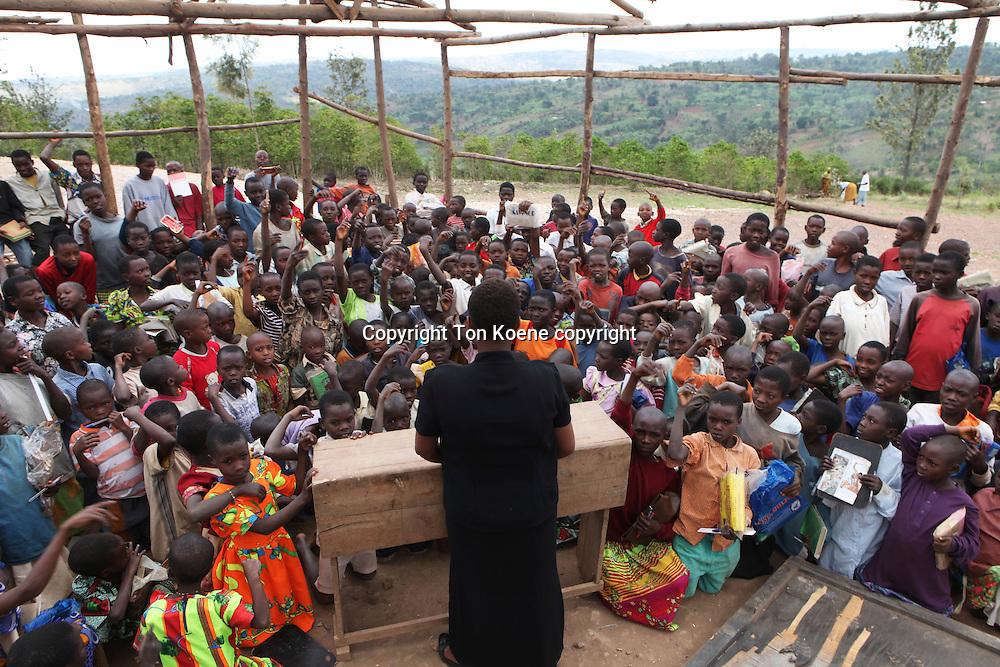 school in Burundi