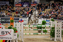GREVE Willem (NED), GOGO<br /> Neumünster - VR Classics 2020<br /> Voigt Logistik Cup<br /> CSI3* Internationale Weltranglisten-Springprüfung<br /> nach Strafpunkten und Zeit (1,50m)<br /> 14. Februar 2020<br /> © www.sportfotos-lafrentz.de/Stefan Lafrentz