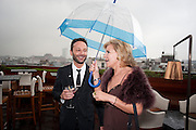 MARIA MCERLANE; JEREMY LANGMEAD, Esquire dinner celebrating being Brilliant, Young and British hosted by editor Jeremy Langmead at Aqua Nueva, Fifth Floor, 240 Regent Street , London 1 June 2010. -DO NOT ARCHIVE-© Copyright Photograph by Dafydd Jones. 248 Clapham Rd. London SW9 0PZ. Tel 0207 820 0771. www.dafjones.com.