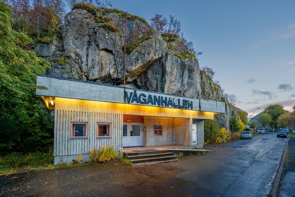 Våganhallen er en flerbrukshall for idrett i Svolvær kommune i Lofoten.