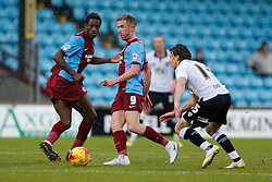 Paddy Madden of Scunthorpe United in action - Photo mandatory by-line: Rogan Thomson/JMP - 07966 386802 - 17/01/2015 - SPORT - FOOTBALL - Scunthorpe, England - Glanford Park - Scunthorpe United v Bristol City - Sky Bet League 1.