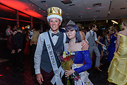 The Senior Prom King and Queen, Charlee Ojala and Chaise Hill pose for a photo as Fairdale High School holds it's prom at the Muhammad Ali Center on Saturday, May 18.