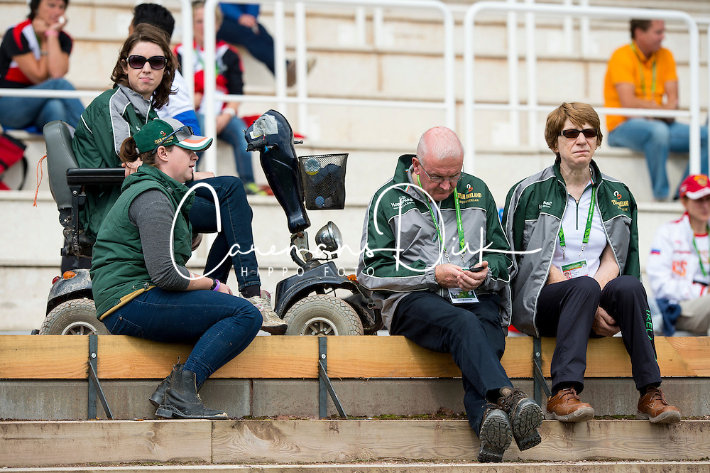 Team IRL - Individual Test Grade II Para Dressage - Alltech FEI World Equestrian Games™ 2014 - Normandy, France.<br /> © Hippo Foto Team - Jon Stroud <br /> 25/06/14