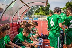 NK Olimpija Ljubljana vs. Udinese Calcio during of the Open Cup 2021. , on 12.06.2021 in ZAK Stadium, Ljubljana, Slovenia. Photo by Urban Meglič / Sportida