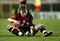 Fotball<br /> Belgia 2004/05<br /> FC Brussel v KV Oostende<br /> 10. november 2004<br /> Foto: Digitalsport<br /> NORWAY ONLY<br /> Bjørn Helge Riise, Brussel