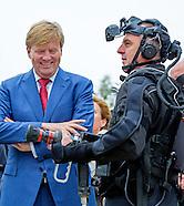 Koning Willem-Alexander is donderdag 6 oktober aanwezig bij de opening van het Landelijk Congres Bra