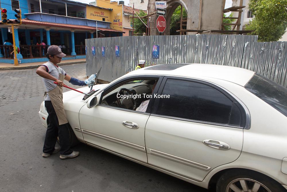 car washer in nicaragua