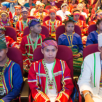 Graduation ceremony for students of the Lumad Bakwit School - a school set up for the evacuated indigenous Lumad people of Mindanao in the Philippines.