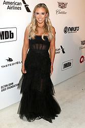 February 24, 2019 - West Hollywood, CA, USA - LOS ANGELES - FEB 24:  Teddi Jo Mellencamp at the Elton John Oscar Viewing Party on the West Hollywood Park on February 24, 2019 in West Hollywood, CA (Credit Image: © Kay Blake/ZUMA Wire)