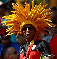 belgium supporter<br /> Moscow 23-06-2018 Football FIFA World Cup Russia  2018 <br /> Belgium - Tunisia / Belgio - Tunisia <br /> Foto Matteo Ciambelli/Insidefoto