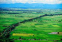 View from Mandalay Hill, Mandalay, Burma (Myanmar)