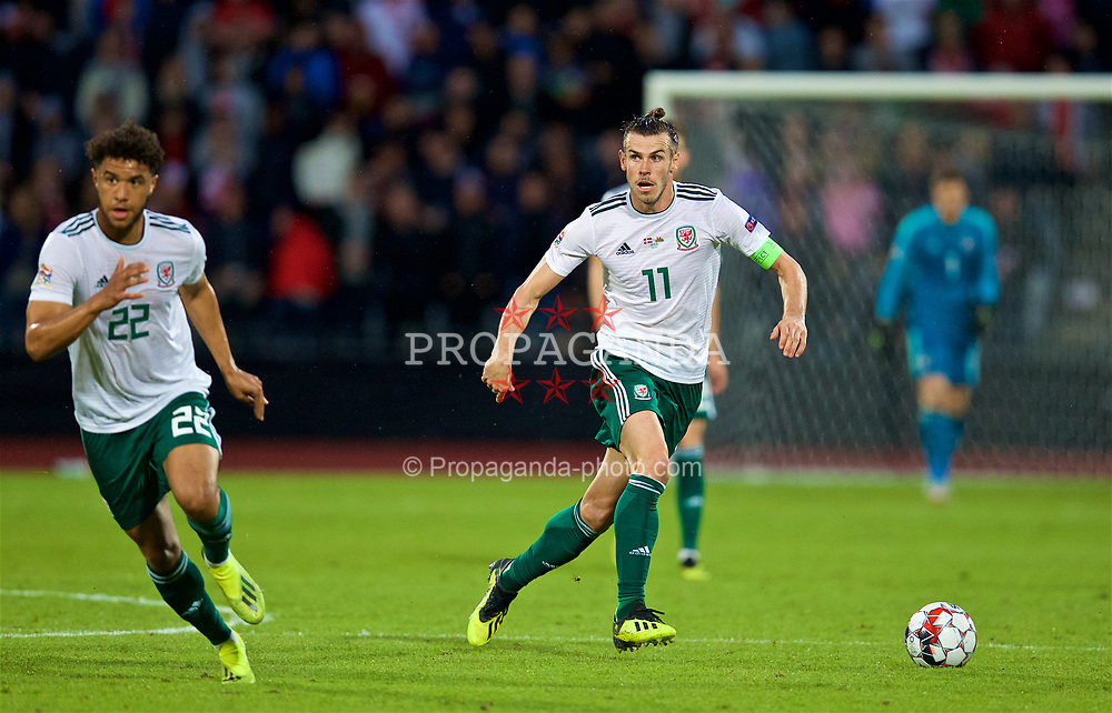 AARHUS, DENMARK - Sunday, September 9, 2018: Wales' captain Gareth Bale during the UEFA Nations League Group Stage League B Group 4 match between Denmark and Wales at the Aarhus Stadion. (Pic by David Rawcliffe/Propaganda)