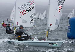The annual RYA Youth National Championships is the UK's premier youth racing event. Day 3 with winds backing to the North the racing started on the Largs Channel.<br /> <br /> 206782, Krishan Bhogal, Manor Park Sailing Club, Laser Radial Boy<br /> <br /> Images: Marc Turner / RYA<br /> <br /> For further information contact:<br /> <br /> Richard Aspland, <br /> RYA Racing Communications Officer (on site)<br /> E: richard.aspland@rya.org.uk<br /> m: 07469 854599