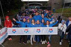 28-09-2019 NED: Finale Nationale Diabetes Challenge, Den Haag<br /> Diverse gezondheidscentra, huisartsenpraktijken en fysiotherapie praktijken zijn met ondersteuning van de BvdGF gestart met een lokale wandel challenge. De grote finale vondt plaats in de Uithof in Den Haag / BvdGF crew