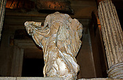 statue from the Nereid Monument, which takes its name from the Nereids, sea-nymphs whose statues were placed between the columns of this monumental tomb. It was built for Erbinna, ruler of Lycian Xanthos, south-west Turkey. 390-380 BC.