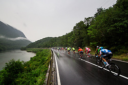 Peloton in Solkan during 4th Stage of 26th Tour of Slovenia 2019 cycling race between Nova Gorica and Ajdovscina (153,9 km), on June 22, 2019 in Slovenia. Photo by Matic Klansek Velej / Sportida