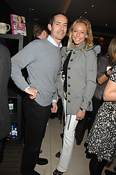 LADY ALEXANDRA SPENCER-CHURCHILL and NICK WARNER at a party to celebrate the publication of Lisa B's book 'Lifestyle Essentials' held at the Cook Book Cafe, Intercontinental Hotel, Park Lane London on 10th April 2008.<br /><br />NON EXCLUSIVE - WORLD RIGHTS