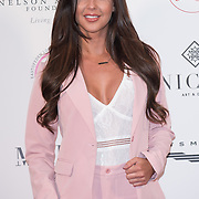 Shelby Tribble Arrive The Nelson Mandela Foundation hosts dinner in memory of Nelson Mandela on what would have been the day before his 100 birthday on 24 April 2018 at Rosewood Hotel, London, UK.