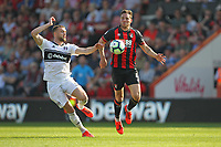 Football - 2018 / 2019 Premier League - AFC Bournemouth vs. Fulham<br /> <br /> Bournemouth's Dan Gosling and Calum Chambers of Fulham in action during the Premier League match at the Vitality Stadium (Dean Court) Bournemouth   <br /> <br /> COLORSPORT/SHAUN BOGGUST