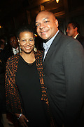 l to r: Terrie Williams and Assemblyman Karim Camara at Rev. Al Sharpton's 55th Birthday Celebration and his Salute to Women on Distinction held at The Penthouse of the Soho Grand on October 6, 2009 in New York City