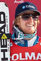 19.12.2010, Gran Risa, Alta Badia, ITA, FIS World Cup Ski Alpin, Men, Giant Slalom, im Bild am Podium Ted Ligety (USA, #6) Platz 1. EXPA Pictures © 2010, PhotoCredit: EXPA/ J. Groder