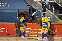 Janssens Rob, BEL, Querido<br /> Pavo Hengsten competitie - Oudsbergen 2021<br /> © Hippo Foto - Dirk Caremans<br />  22/02/2021