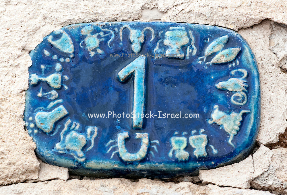 Ceramic numbers the number One