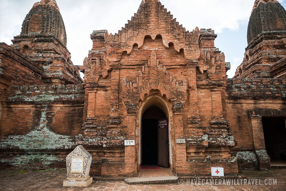 BAGAN, Myanmar - A temple in the Paya-thone-zu Group in the Bagan Archeological Zone in Bagan, Maynmar (Burma).