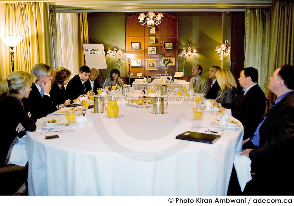 'Leaders Diversité' organisé par le Ministre de l'Immigration et des Communautés culturelles..© Photo Kiran Ambwani / adecom.ca, Club St.James, Québec, Canada, 2008, 06, 10, © Photo Kiran Ambwani/ adecom.ca
