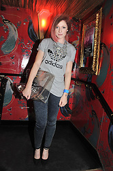 NICOLA ROBERTS at the JW Anderson Top Shop Party held at Madame Jojo's, 8-10 Brewer Street, London W1 on 17th September 2012.