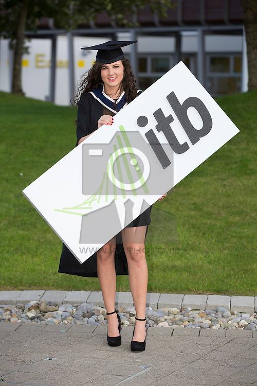 Meliha Gogic pictured at the Institute of Technology Blanchardstown (ITB) 2013 conferring ceremony. 2013 sees the largest number of students being conferred with awards at ITB with over 800 people receiving awards in areas like Mechatronic Engineering, Horticulture, Accounting and Finance, Early Childhood Care and Education and Information Security and Digital Forensics to name but a few. Picture Andres Poveda