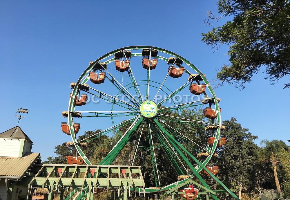 50 Monkeys Ferris Wheel at the Santa Ana Zoo
