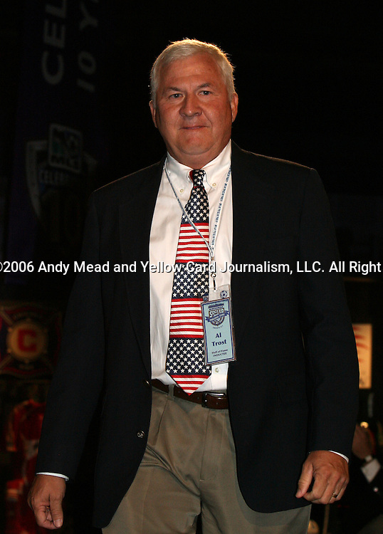 28 August 2006: 2006 inductee Al Trost. The National Soccer Hall of Fame Induction Ceremony was held at the National Soccer Hall of Fame in Oneonta, New York.