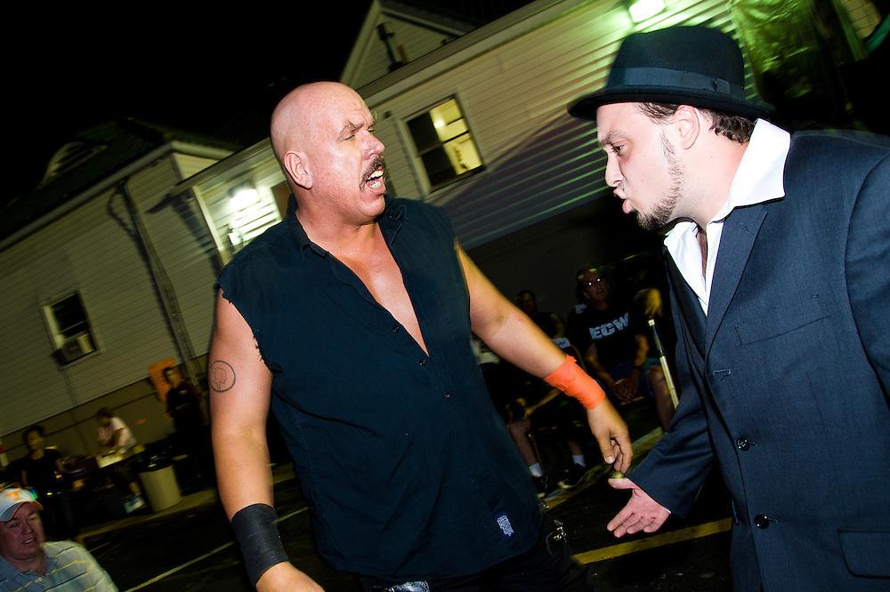 Evil TNT & his manager, Gigolo Joe