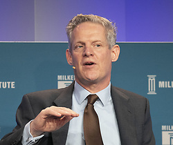 April 30, 2019 - Beverly Hills, California, U.S - Spencer Dale, Group Chief Economist, BP during the 2019 Milken Institute Global Conference held Tuesday April 30, 2019 at the Beverly Hilton Hotel in Beverly Hills, California. ARIANA RUIZ/PI (Credit Image: © Prensa Internacional via ZUMA Wire)