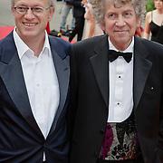 NLD/Hilversum/20080602 - Musical Award Gala 2008, Seth Gaaikema en partner Peter Biemans