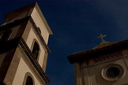 Positano/Campania/Italy - Amalfi Coast. Santa Maria Assunta Church