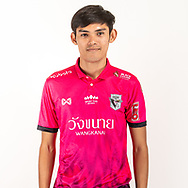 THAILAND - JUNE 06: Poomipat Kantanet #37 of Chainat Hornbill FC on June 06, 2019.<br /> .<br /> .<br /> .<br /> (Photo by: Naratip Golf Srisupab/SEALs Sports Images/MB Media Solutions)