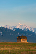 Barn near Polson, Montana.