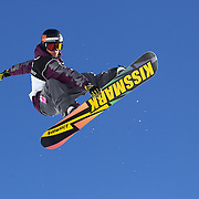 Markus Malin, Finland, in action during the Men's Half Pipe Finals in the LG Snowboard FIS World Cup, during the Winter Games at Cardrona, Wanaka, New Zealand, 28th August 2011. Photo Tim Clayton...