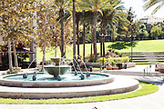 Water Fountain At Town Center In Aliso Viejo