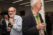 TOM WOOD, MARTIN PARR, Opening of the Martin Parr Foundation party,  Martin Parr Foundation, 316 Paintworks, Bristol, BS4 3 EH  20 October 2017