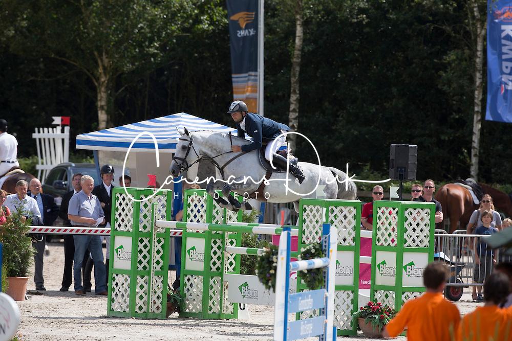 Kraaij Julian (NED) - Aberlin<br /> KWPN Paardendagen - Ermelo 2012<br /> © Dirk Caremans