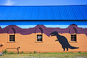 Fossil Shop in Bynum, Montana