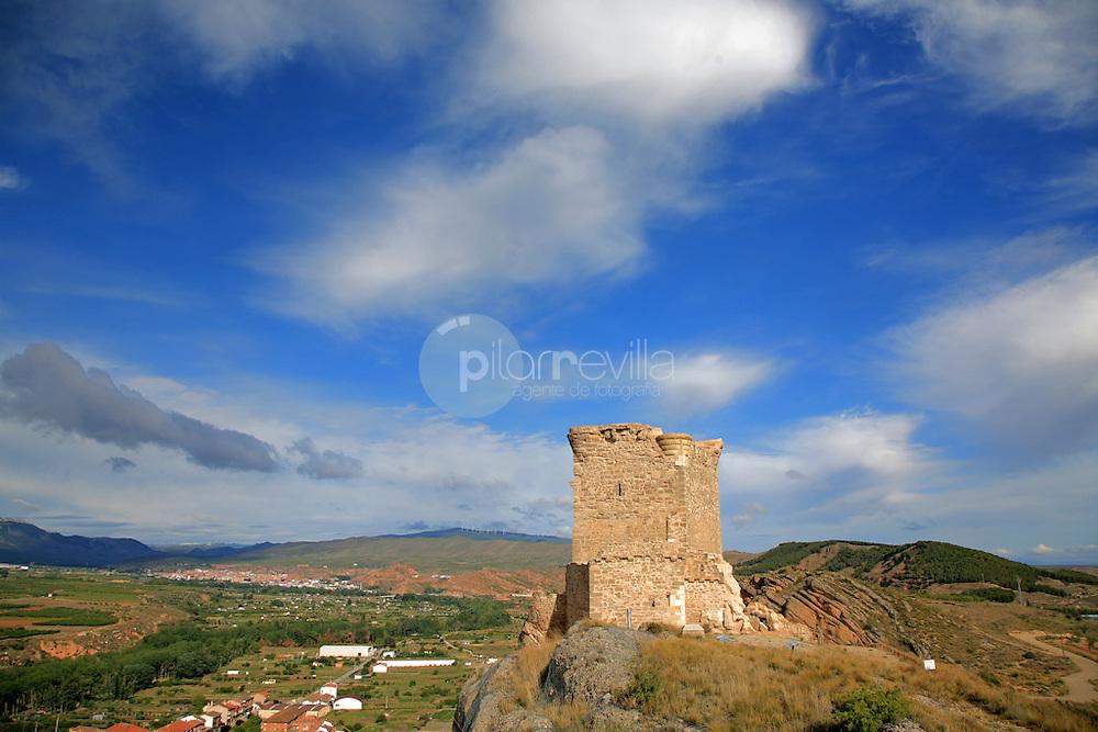 Castillo de Quel. Cidacos. La Rioja ©Daniel Acevedo / PILAR REVILLA