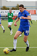 Cove Rangers Ross Graham (20) during the Betfred Scottish League Cup match between Cove Rangers and Hibernian at Balmoral Stadium, Aberdeen, Scotland on 10 October 2020.
