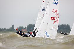 08_003941 © Sander van der Borch. Medemblik - The Netherlands,  May 25th 2008 . Final day of the Delta Lloyd Regatta 2008.